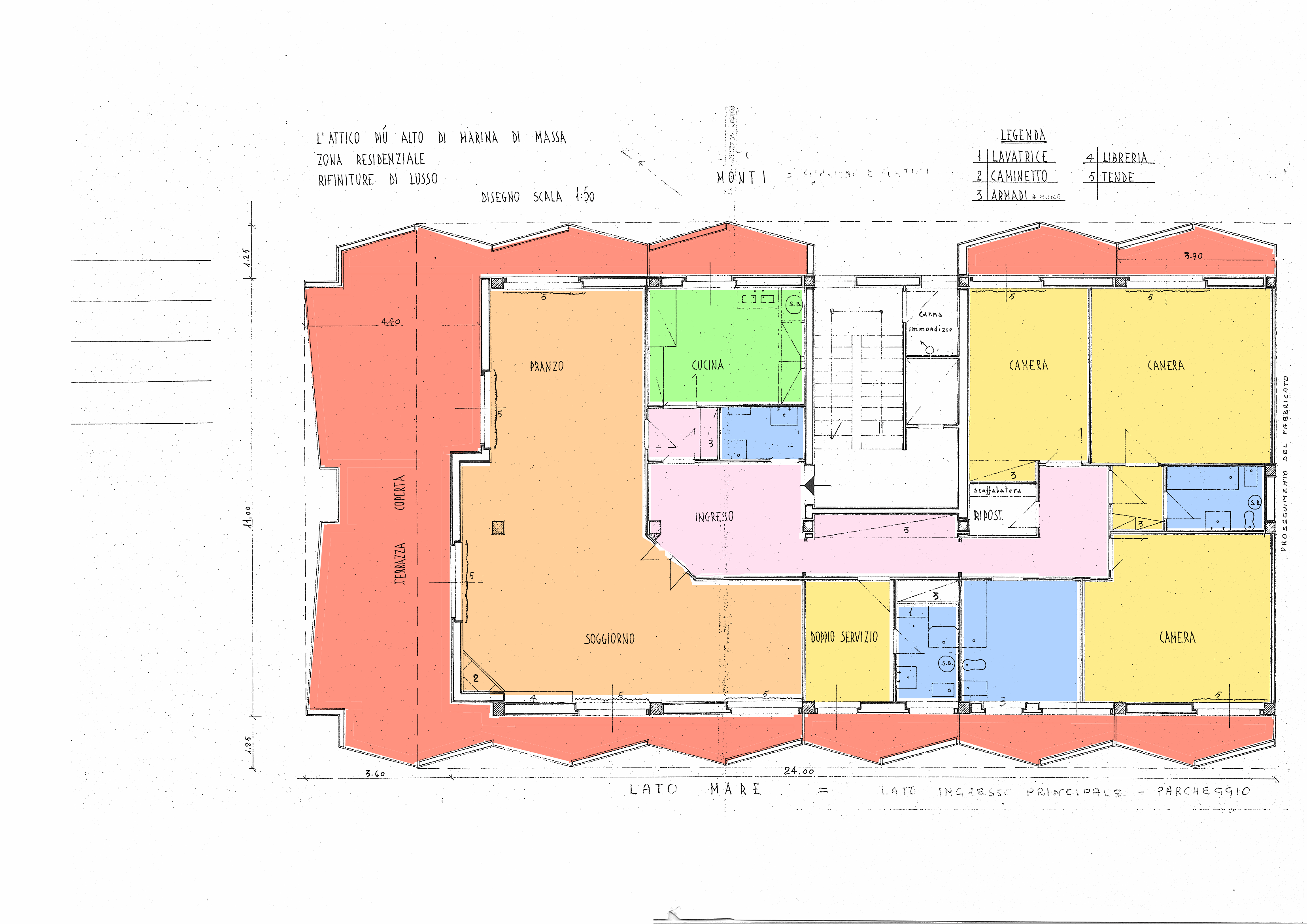Planimetria 1/1 per rif. 19.15