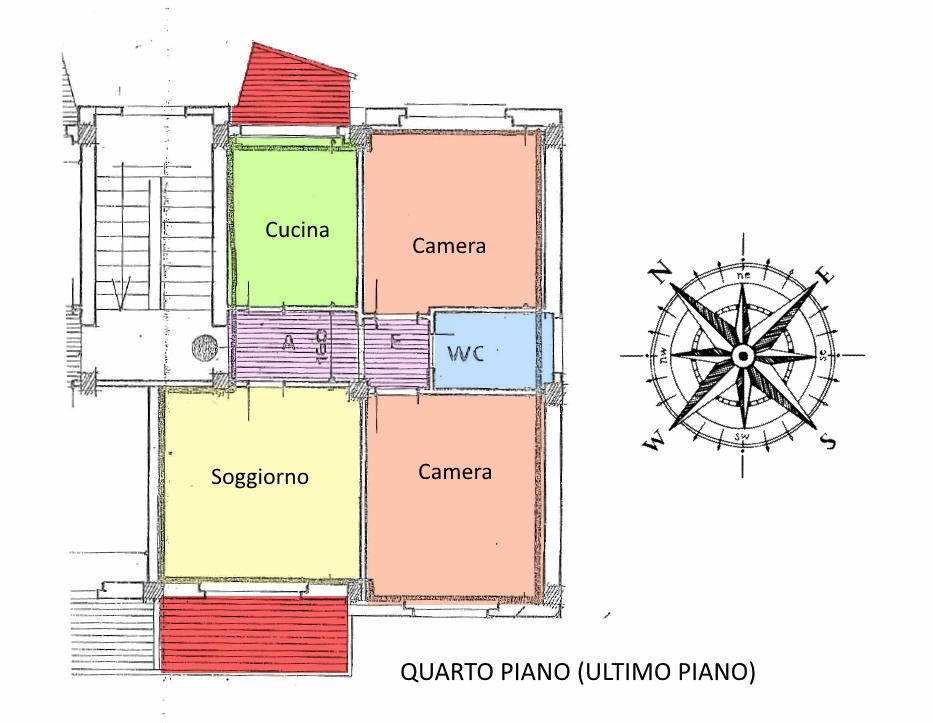 Planimetria 1/1 per rif. 19.21