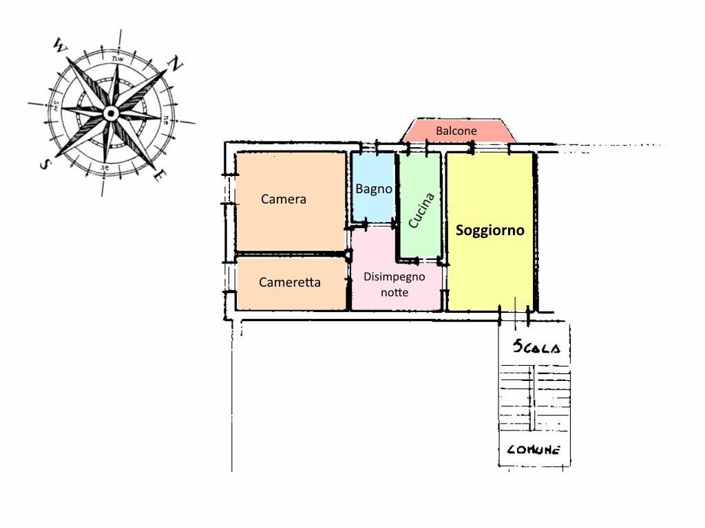 Planimetria 1/2 per rif. 19.30
