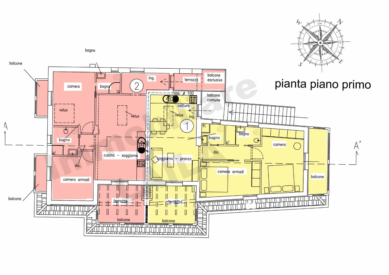 Planimetria 3/3 per rif. 18.25