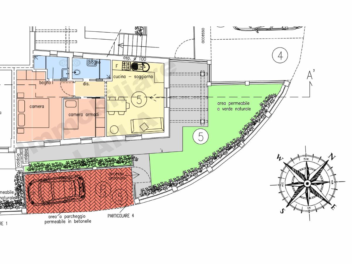 Planimetria 2/3 per rif. 18.25