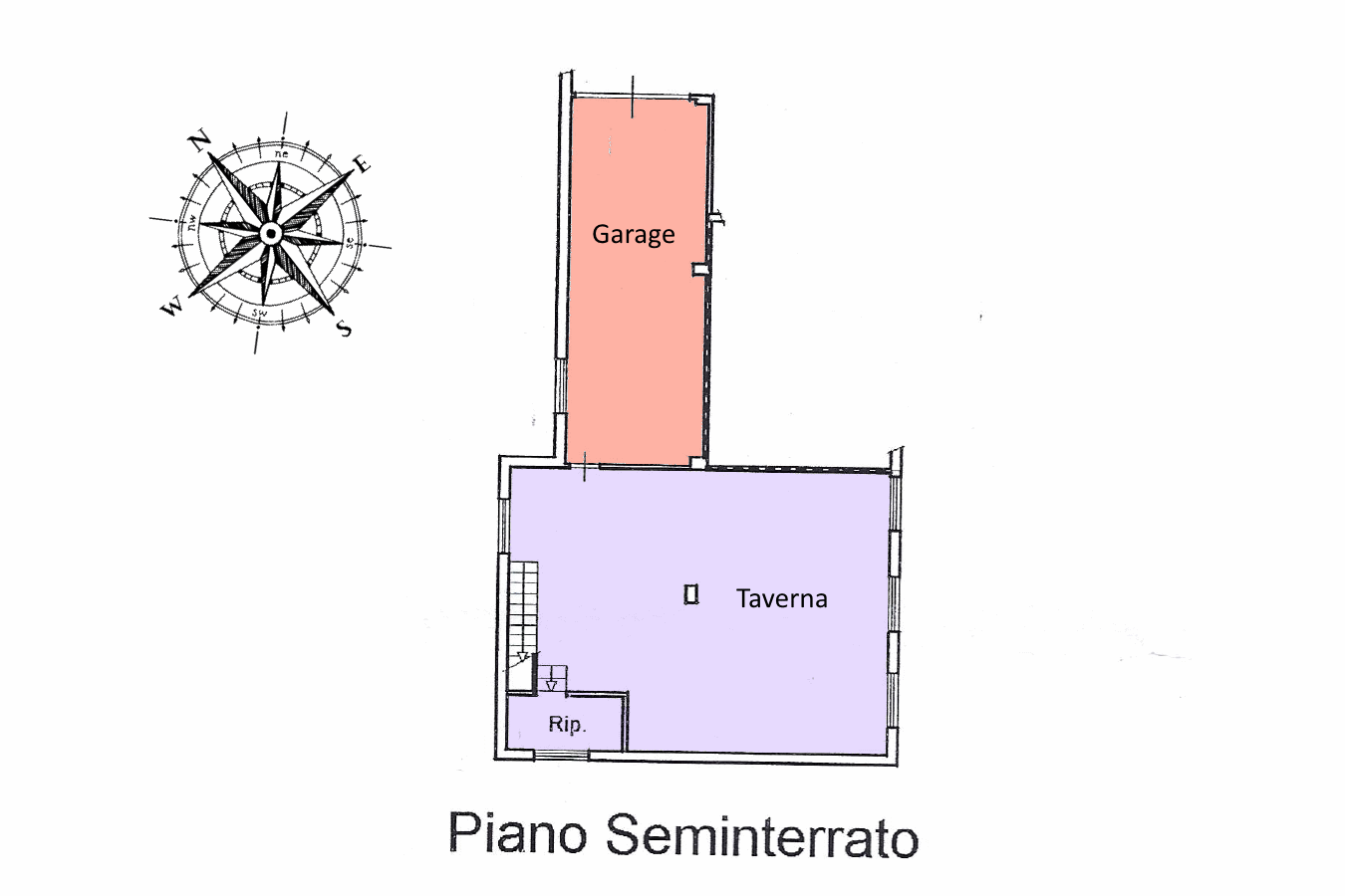 Planimetria 2/2 per rif. 19.18
