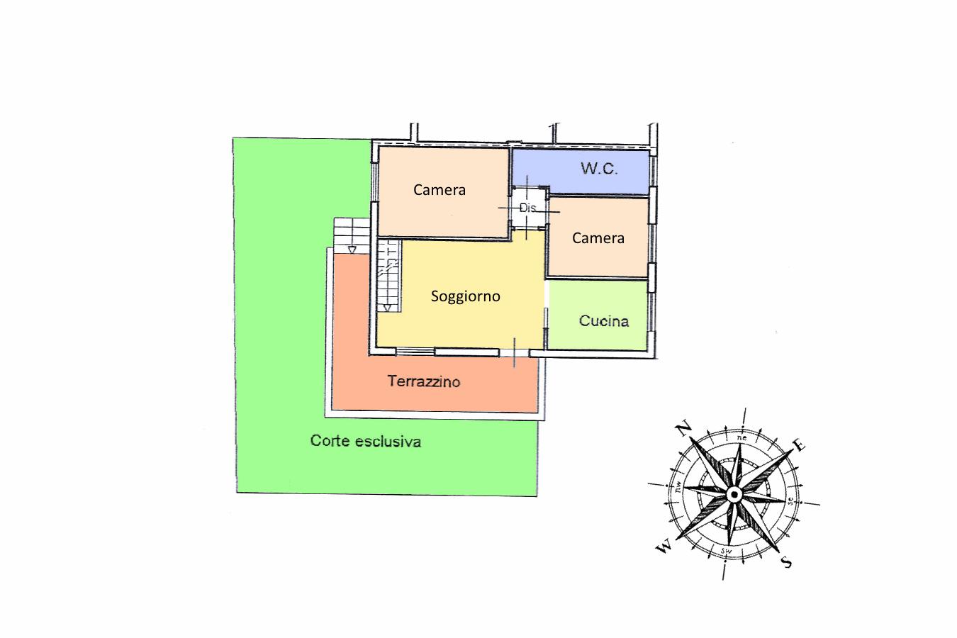 Planimetria 1/2 per rif. 19.18