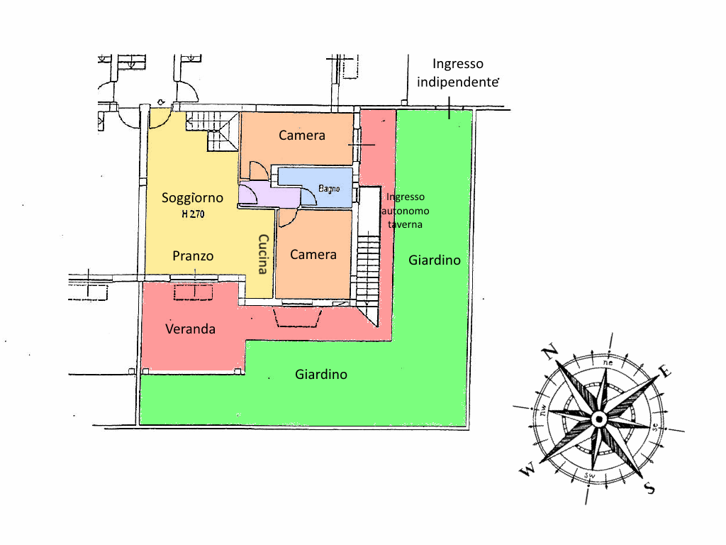 Planimetria 1/1 per rif. 19.40