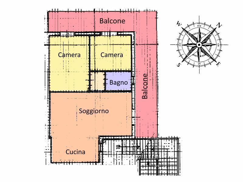 Planimetria 1/1 per rif. 19.55
