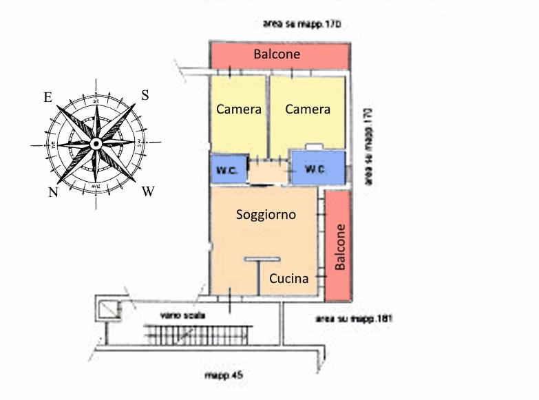 Planimetria 1/1 per rif. 18.72
