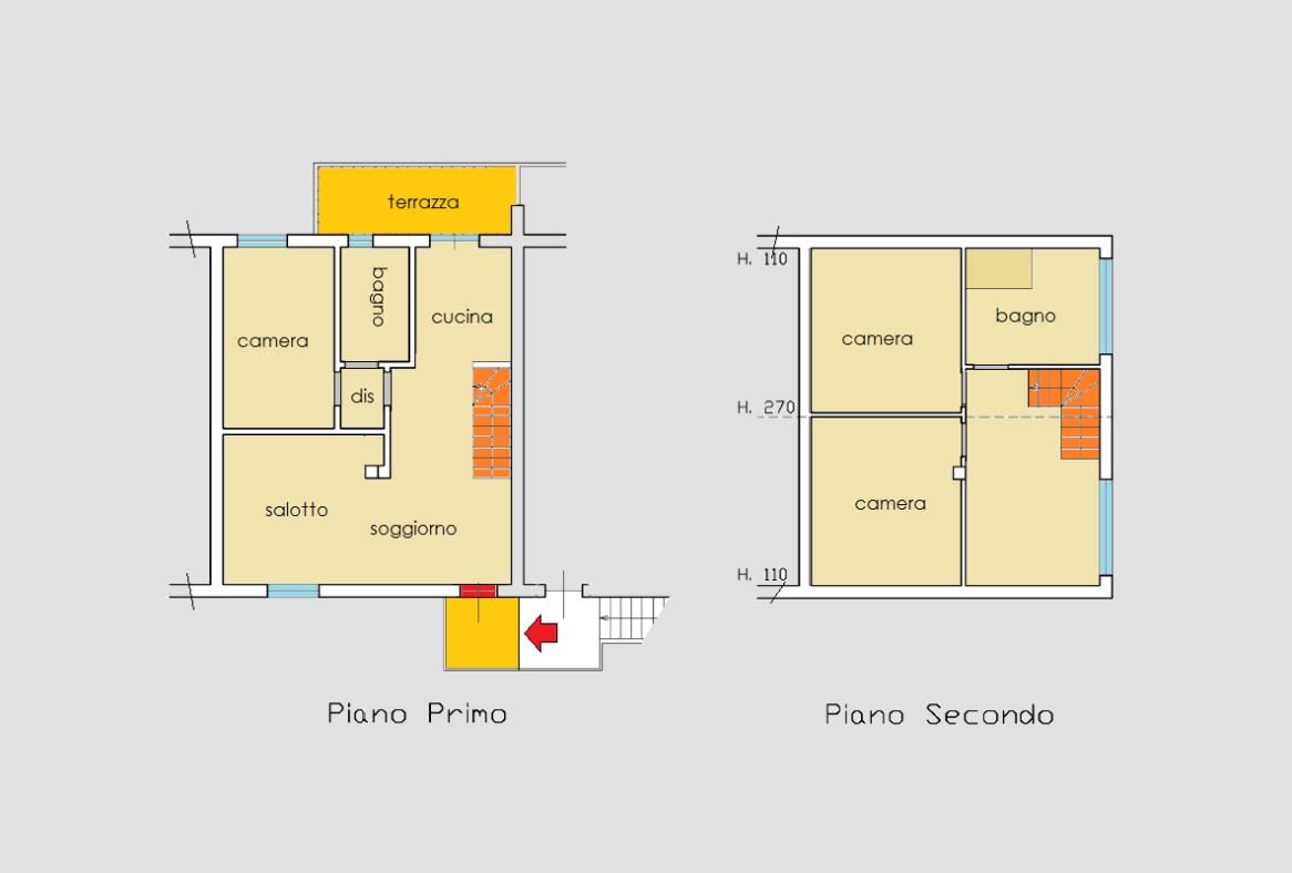 Planimetria 1/1 per rif. 19.75