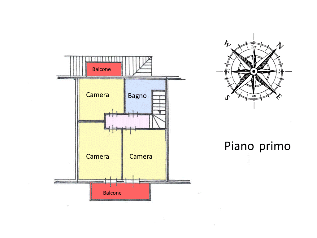Planimetria 2/3 per rif. 20.70