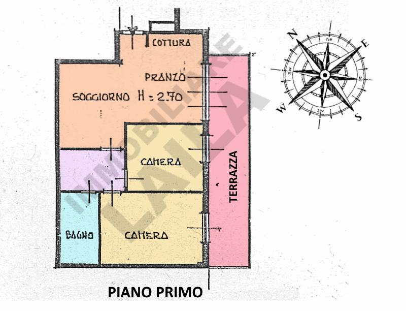 Planimetria 1/1 per rif. 16.76