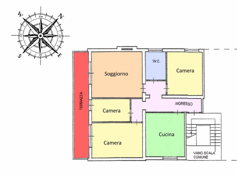 Planimetria 1/1 per rif. 20.07
