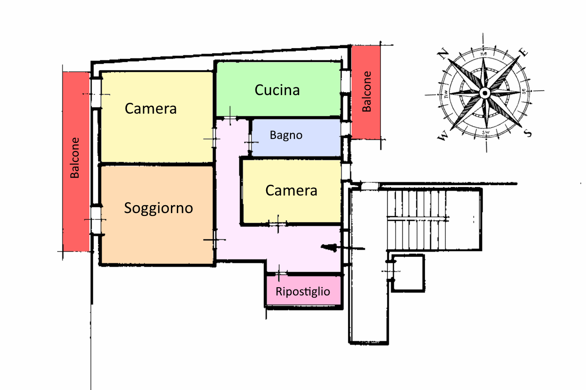 Planimetria 1/1 per rif. 20.13