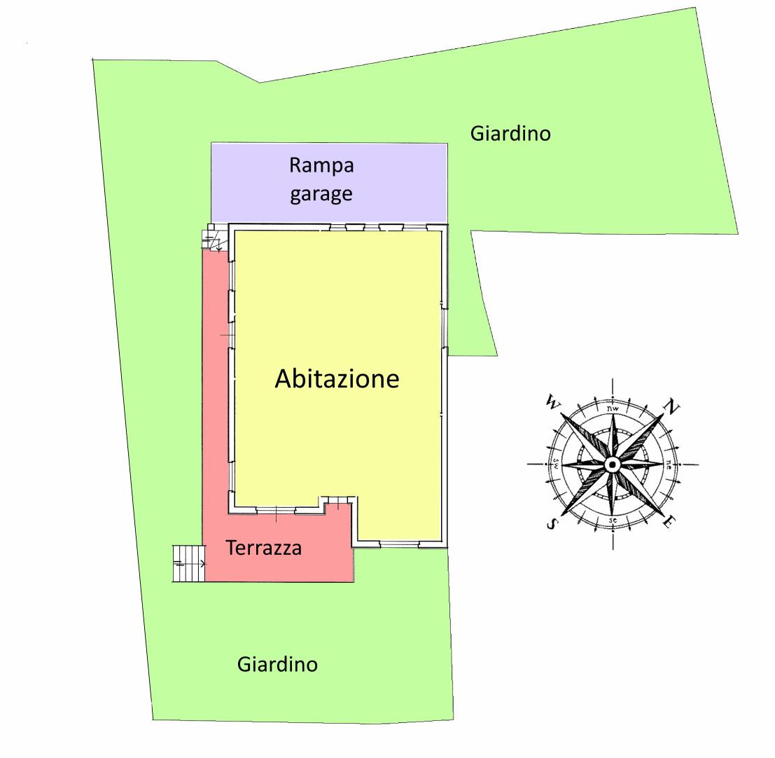 Planimetria 1/3 per rif. 20.16