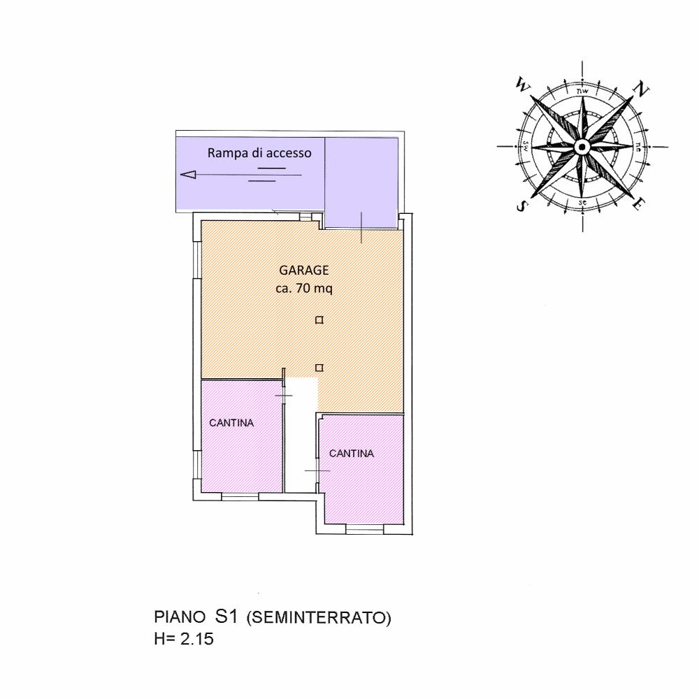 Planimetria 2/3 per rif. 20.16