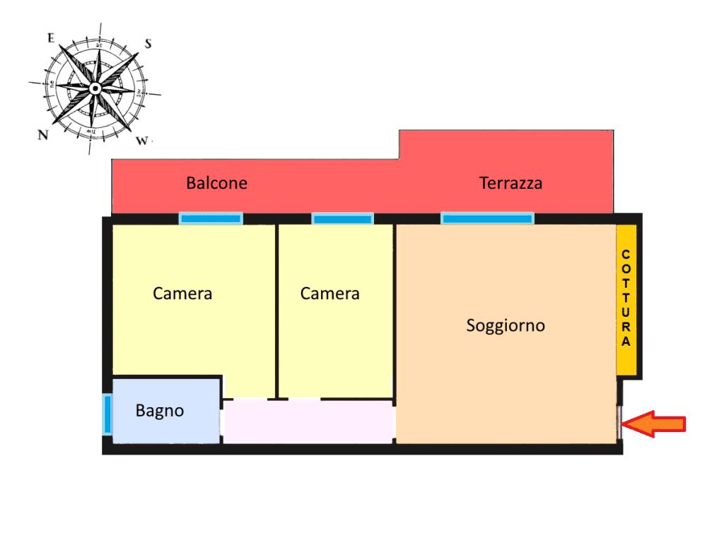 Planimetria 1/1 per rif. 19.85
