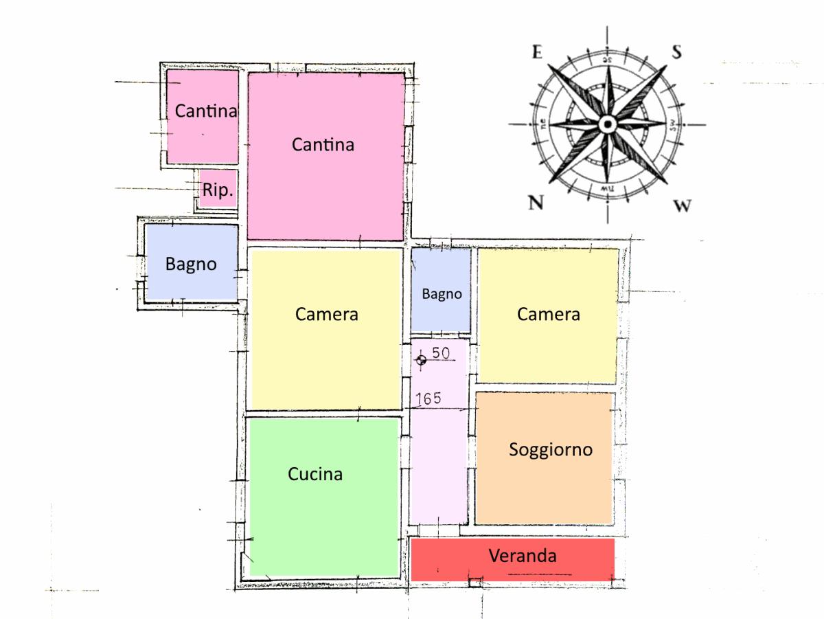 Planimetria 1/1 per rif. 20.14