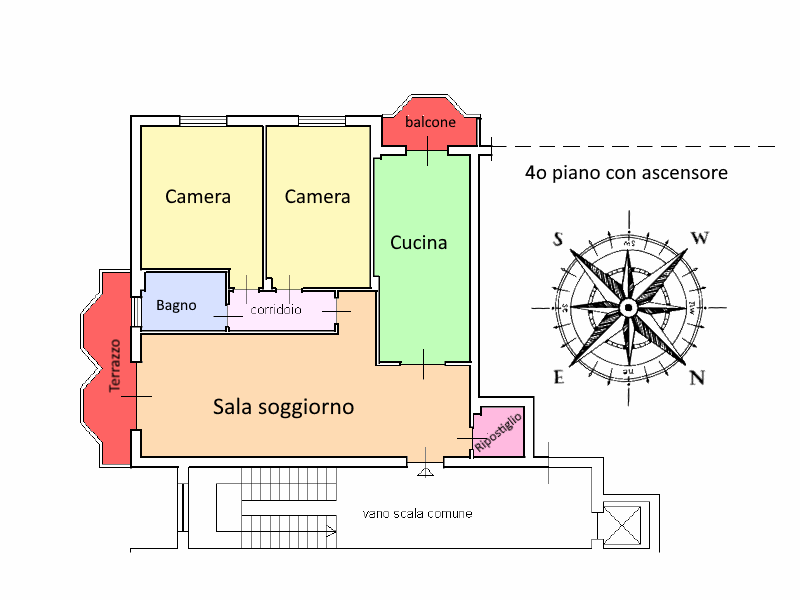 Planimetria 1/1 per rif. 20.30