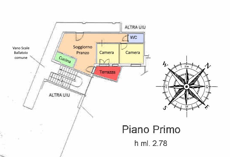 Planimetria 1/1 per rif. RE33