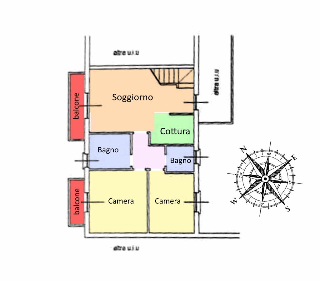 Planimetria 1/2 per rif. 19.70