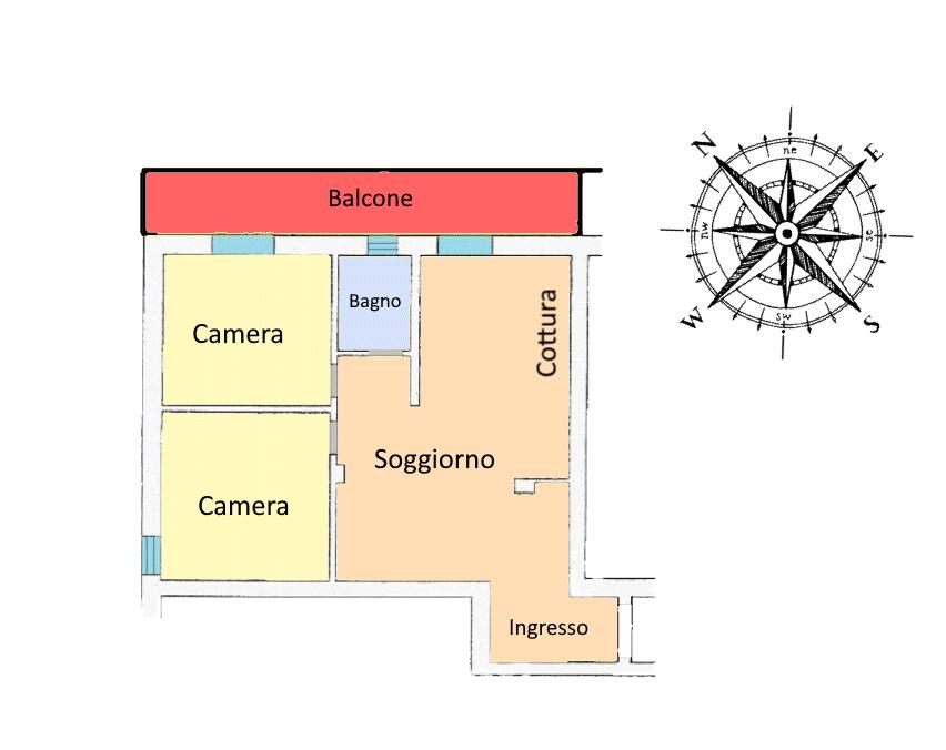 Planimetria 1/1 per rif. 20.72