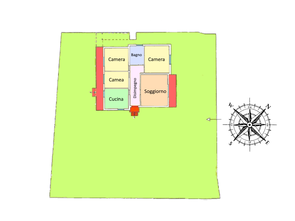 Planimetria 1/1 per rif. 20.68