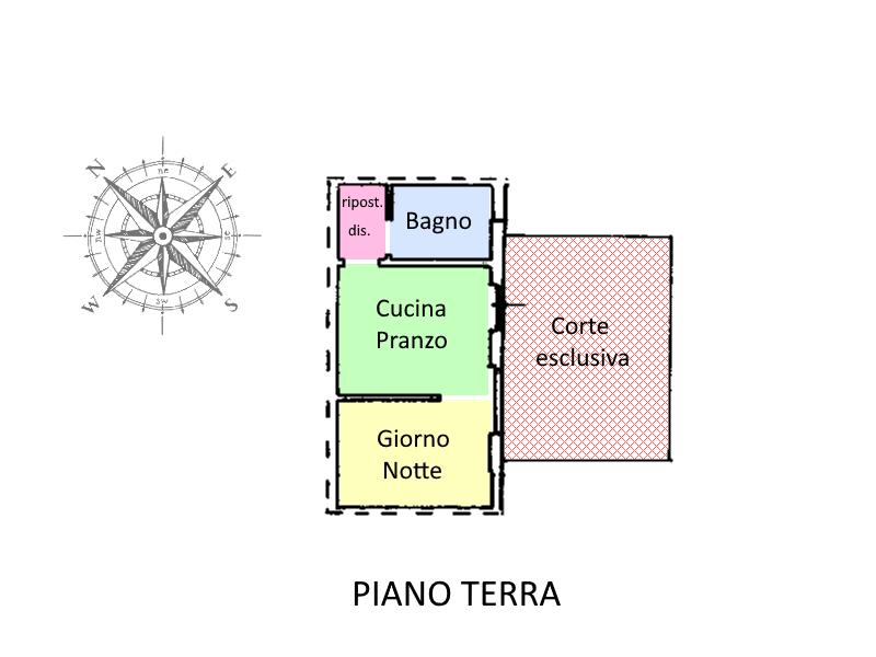 Planimetria 1/1 per rif. ME20