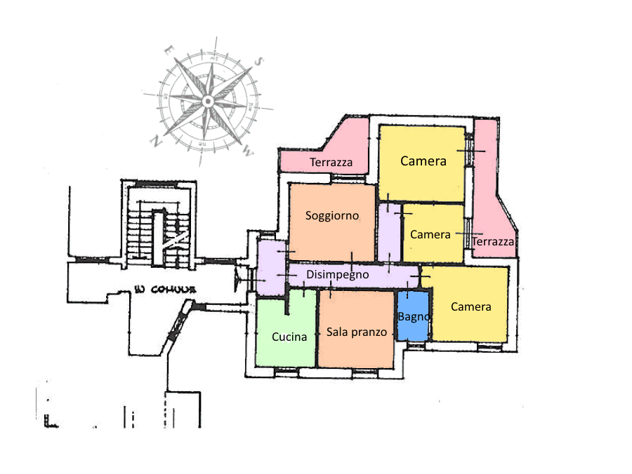 Planimetria 1/1 per rif. 18.68