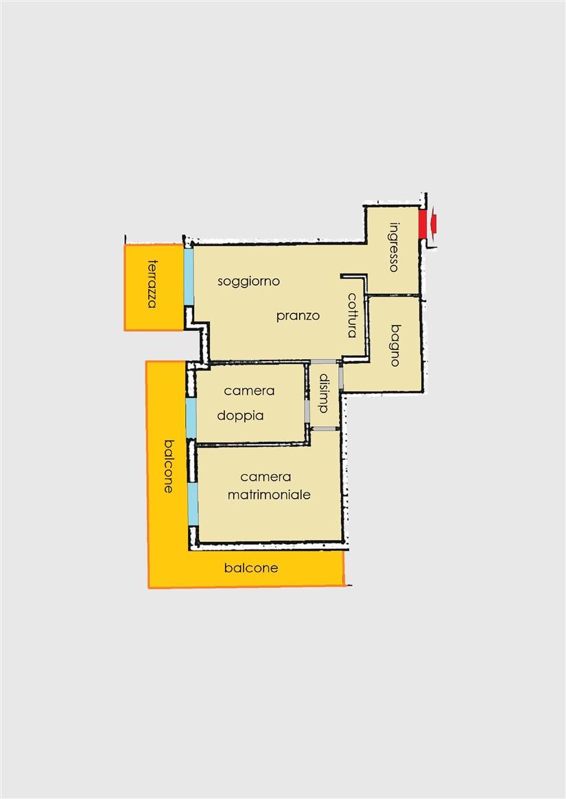 Planimetria 1/1 per rif. 20.58
