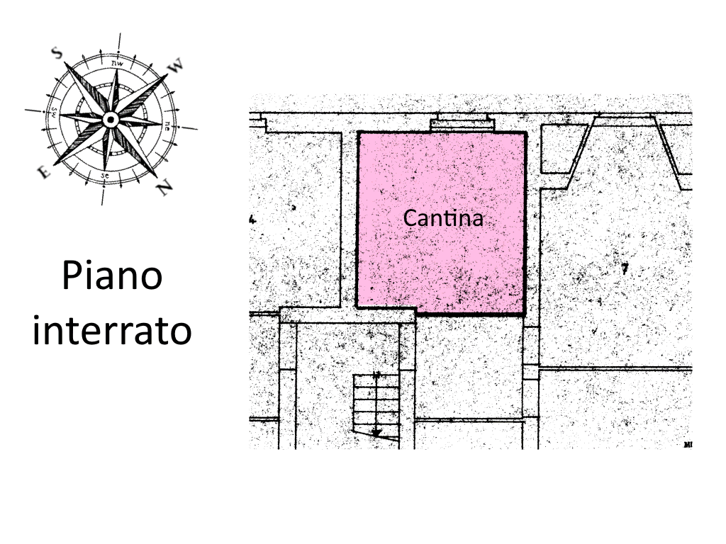Planimetria 2/2 per rif. SE07