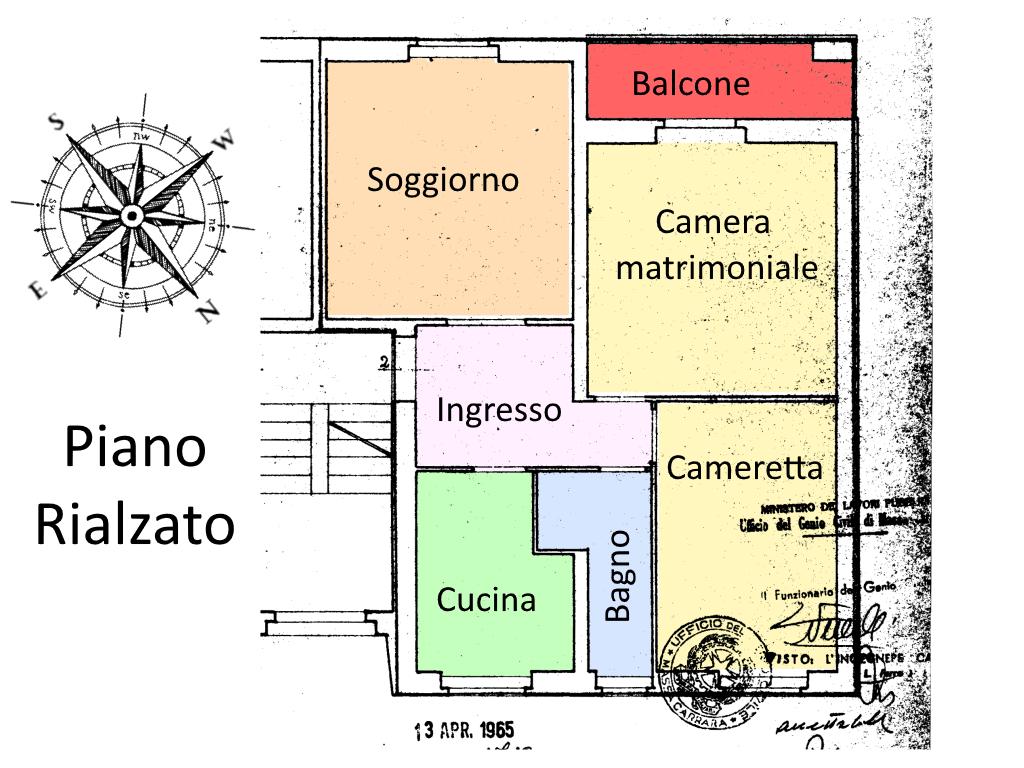 Planimetria 1/2 per rif. SE07