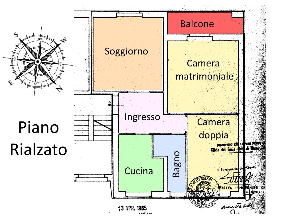 Planimetria 1/2 per rif. 21.01
