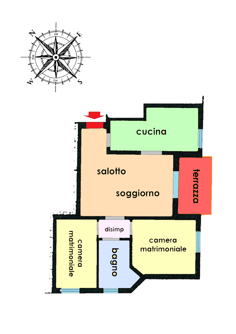 Planimetria 1/1 per rif. 21.07