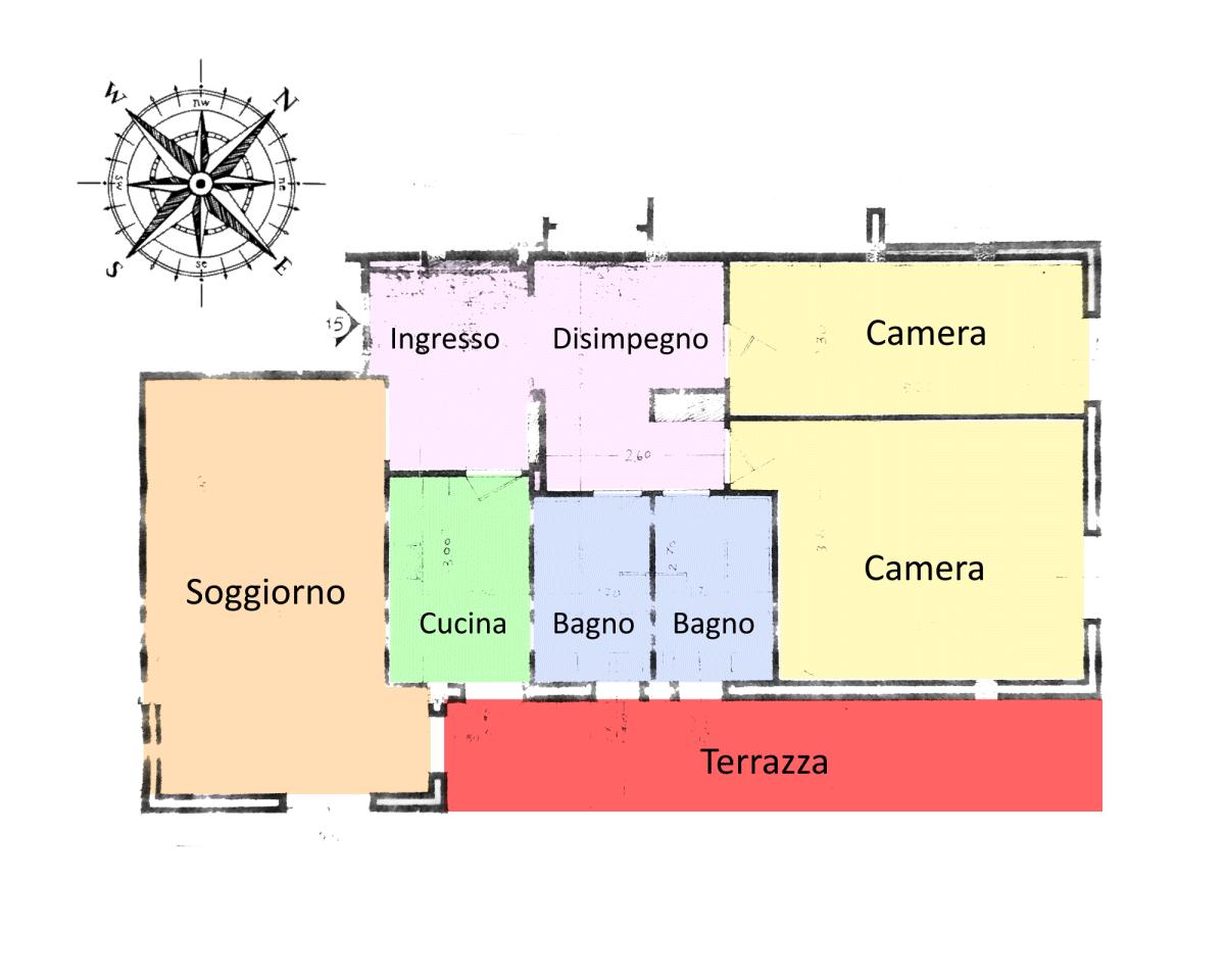 Planimetria 1/1 per rif. 20.27