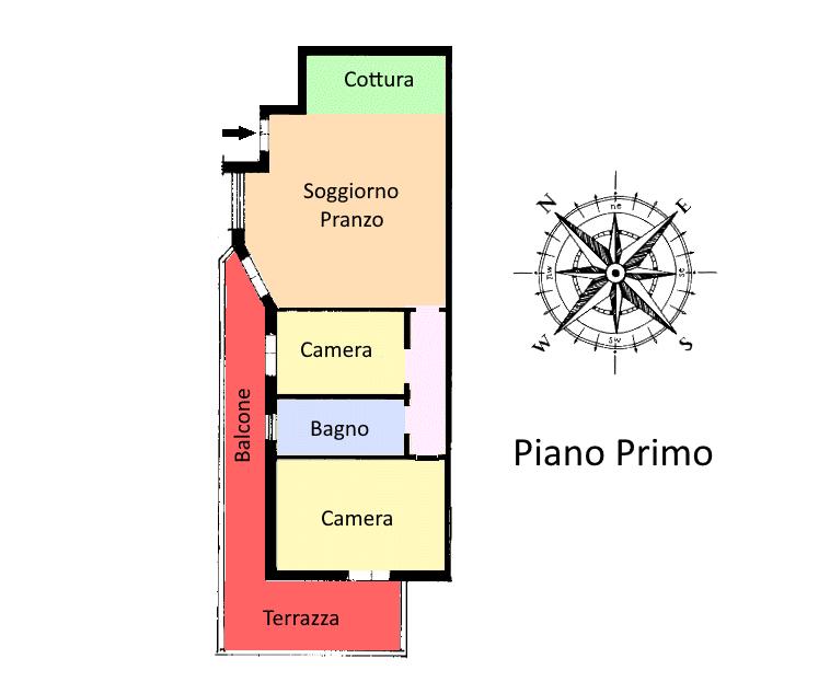 Planimetria 1/1 per rif. 21.02