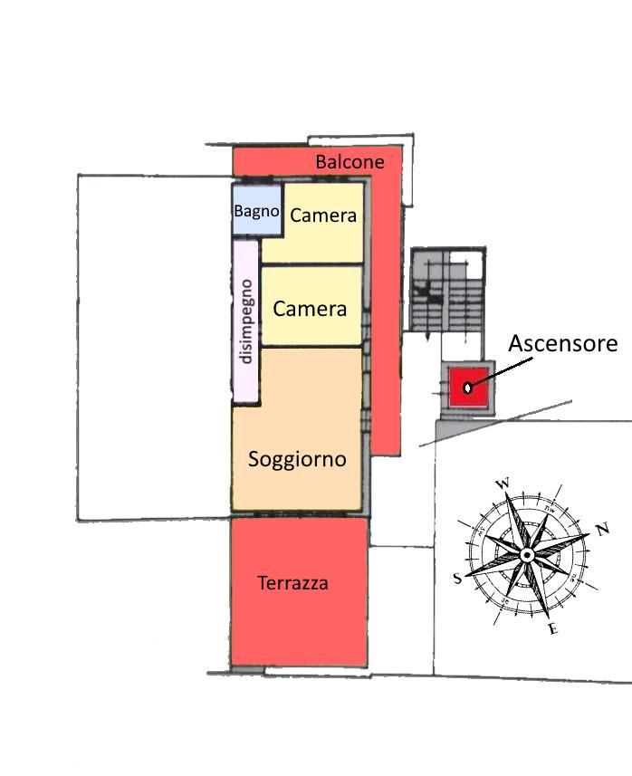 Planimetria 1/1 per rif. 21.21