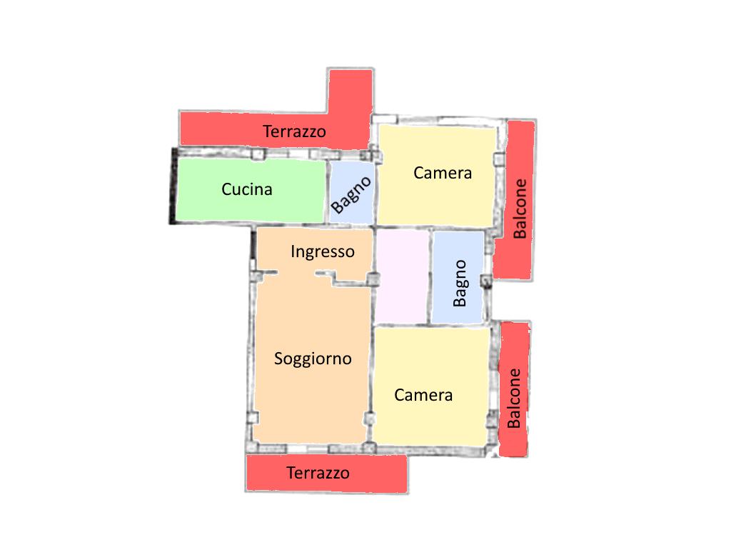 Planimetria 1/1 per rif. 21.25