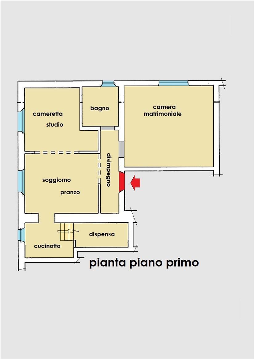 Planimetria 1/1 per rif. 21.34