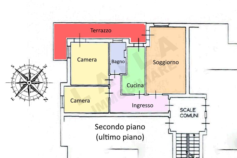 Planimetria 1/1 per rif. 21-33