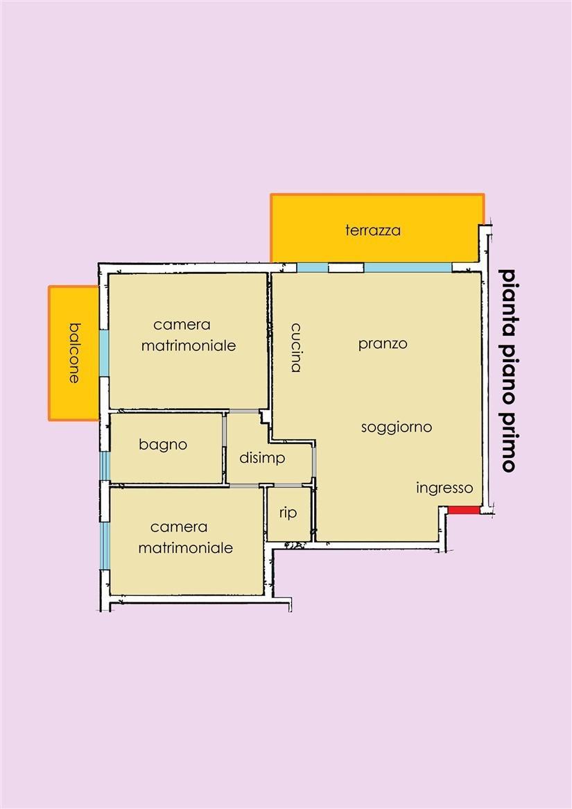 Planimetria 1/1 per rif. 21.35