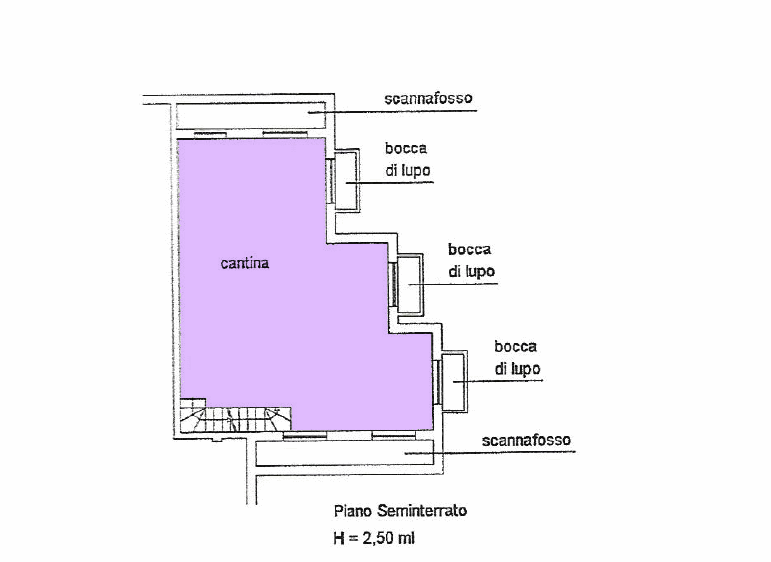 Planimetria 2/2 per rif. 16.43
