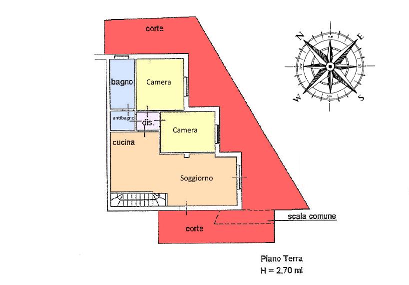 Planimetria 1/2 per rif. 16.43