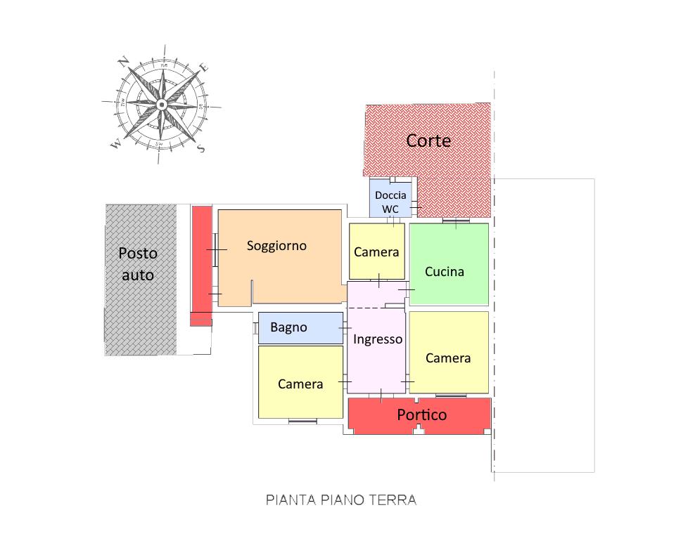 Planimetria 1/1 per rif. 19.10