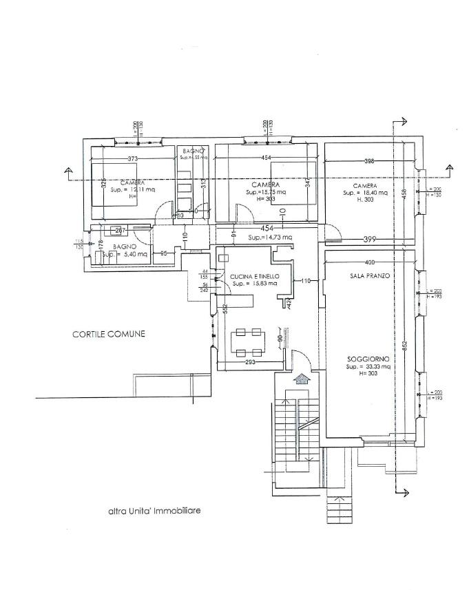 Planimetria 1/1 per rif. MQ-2605