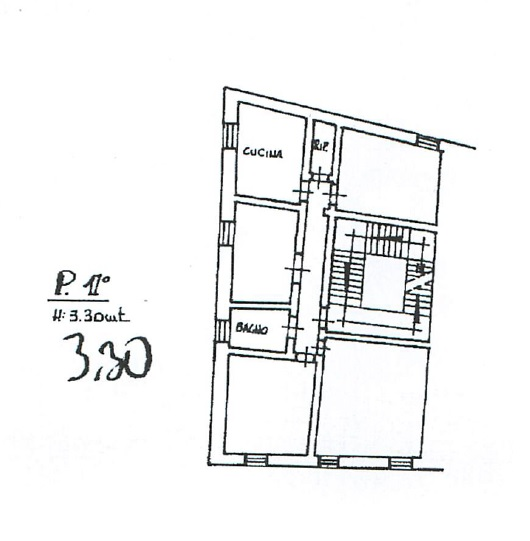 Planimetria 1/1 per rif. MQ-2656