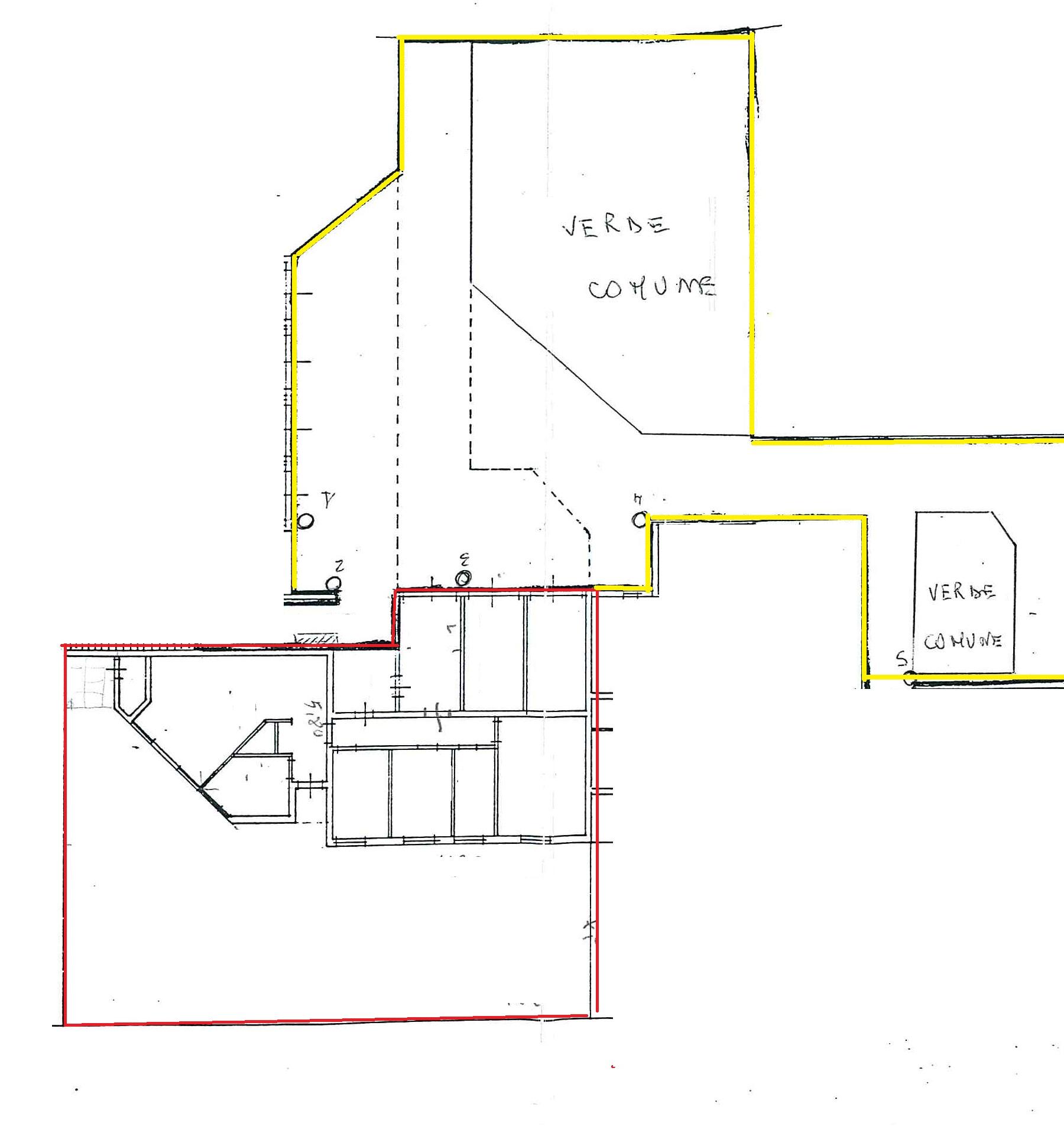 Planimetria 1/2 per rif. MQ-2663