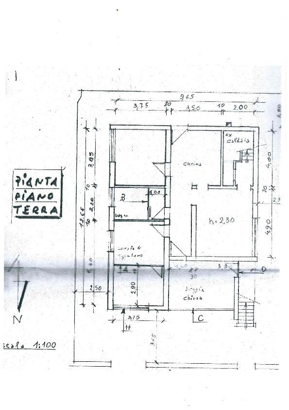 Planimetria 1/2 per rif. MQ-2670