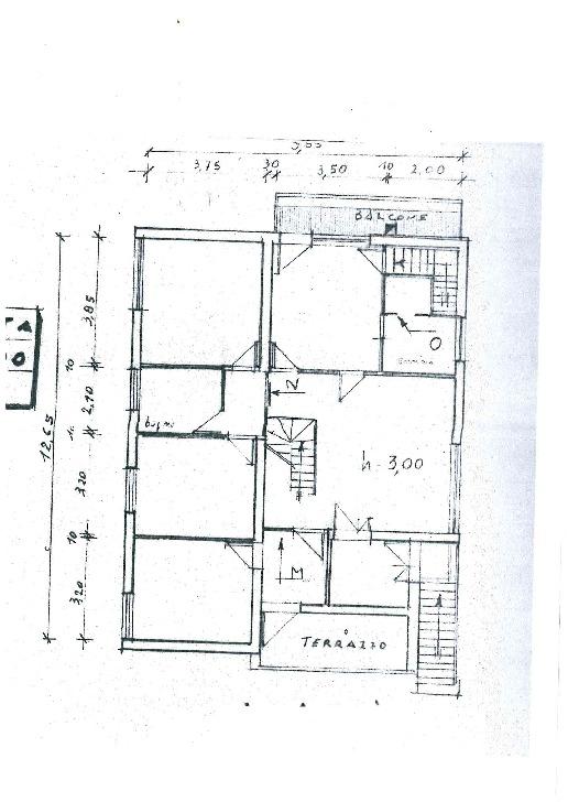 Planimetria 2/2 per rif. MQ-2670