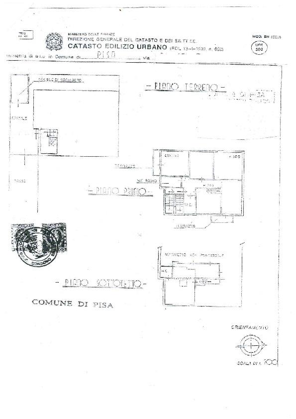 Planimetria 1/1 per rif. MQ-2695