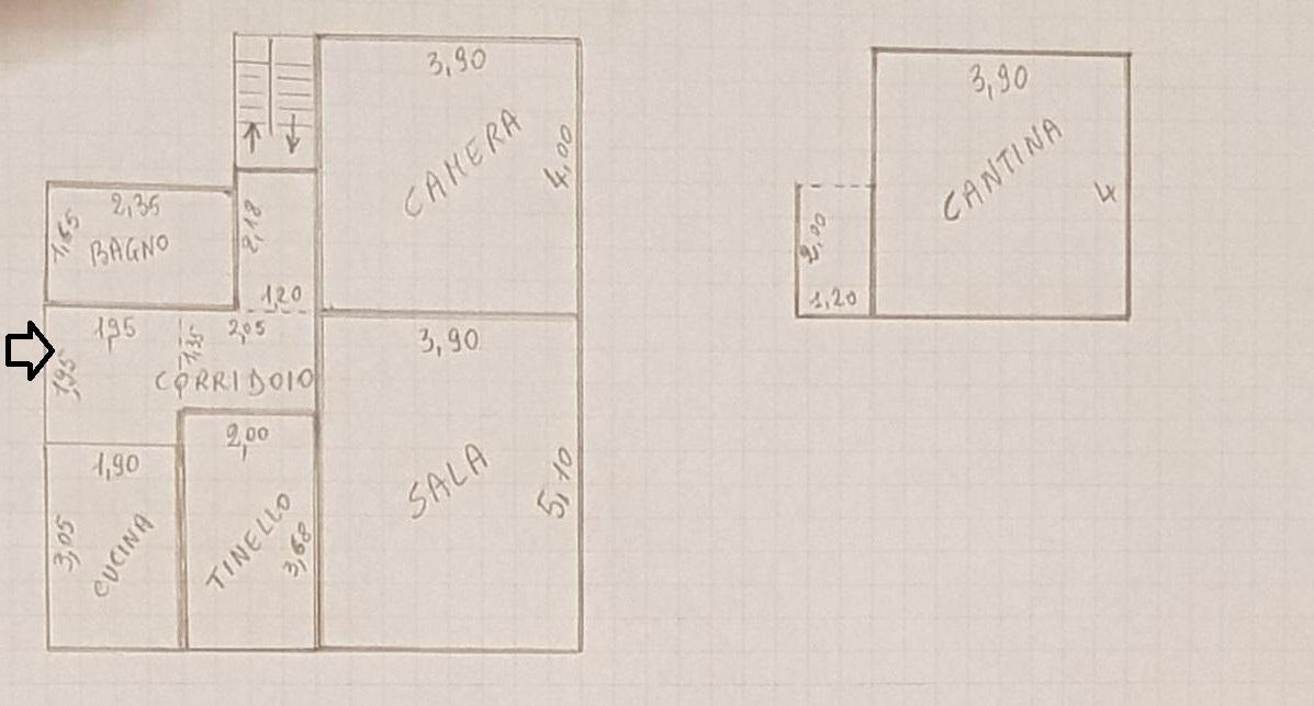 Planimetria 1/1 per rif. NV2724
