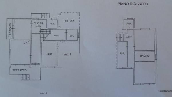 Planimetria 1/3 per rif. NV2725