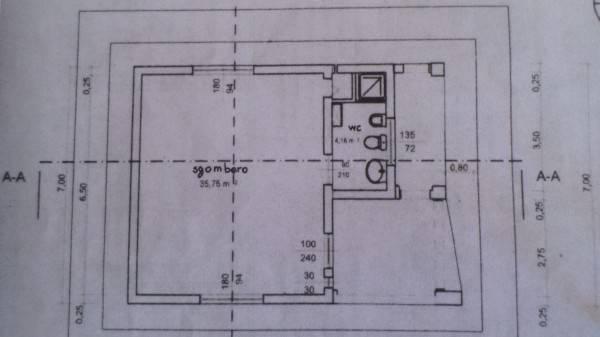 Planimetria 3/3 per rif. NV2725